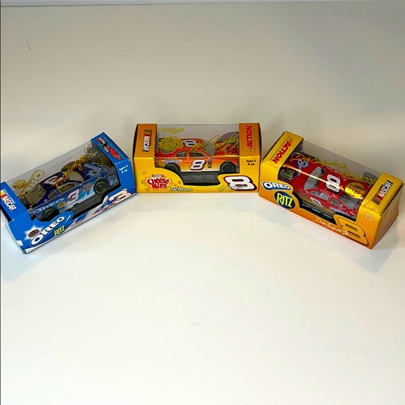 NASCAR 1:64 scale stock cars